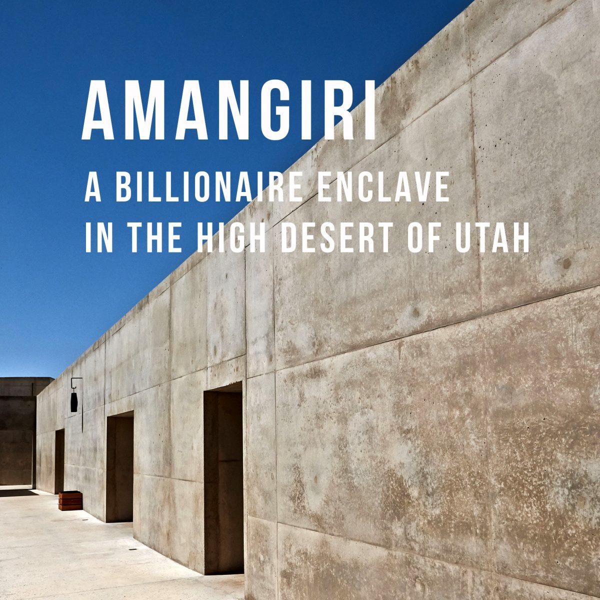 AMANGIRI - spectacularly hotel