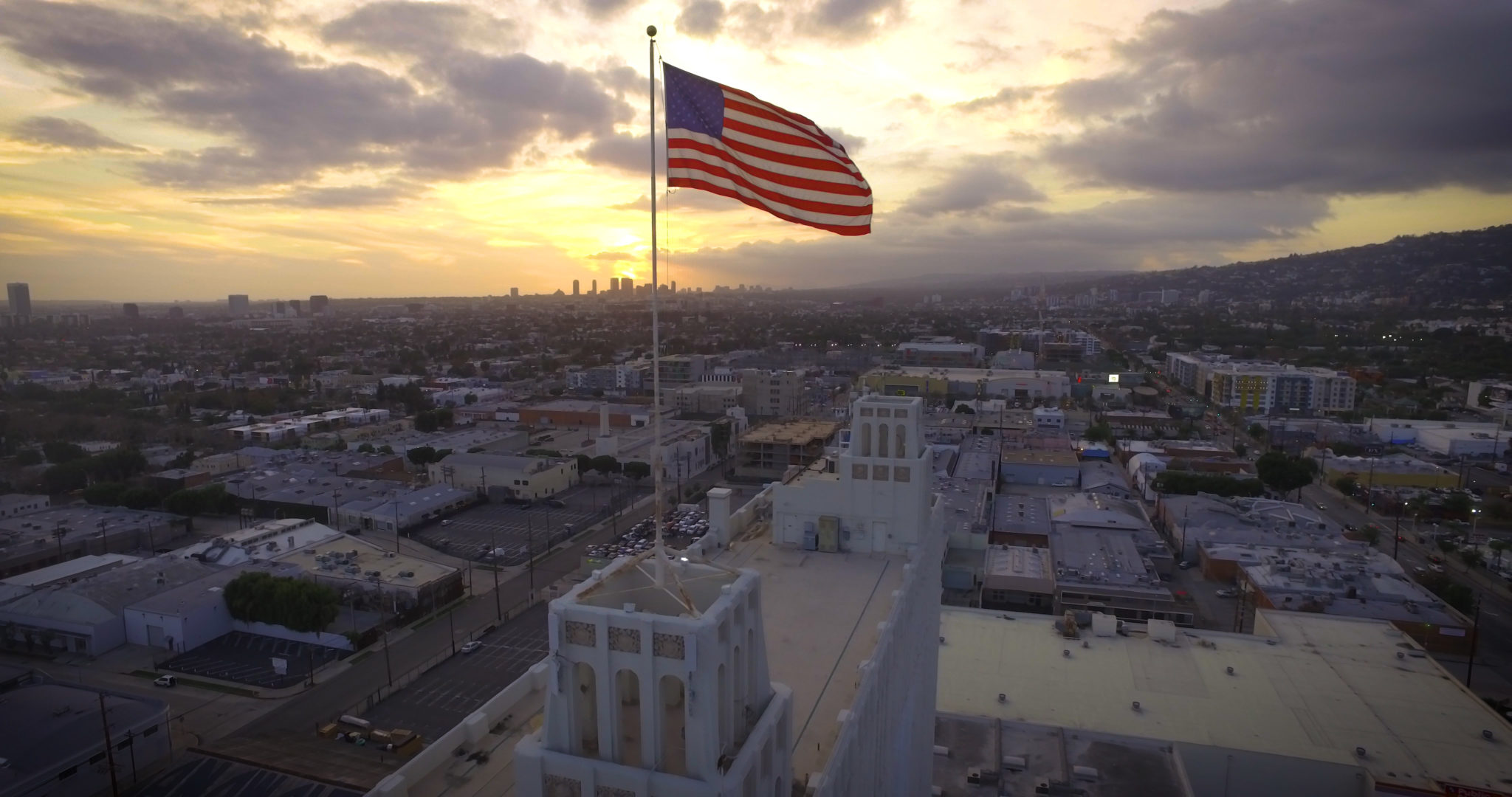 Watch the aerial film  in 4K from Los Angeles here!